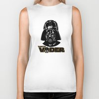 darth vader Biker Tanks featuring Darth Vader by store2u