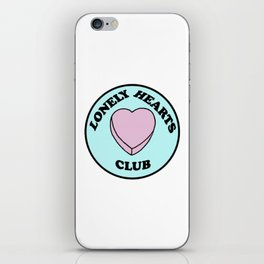 Lonely Hearts Club iPhone Skin