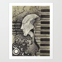 Art of Noise.  Art Print