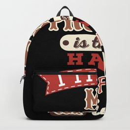 I have really fantastic bad ideas Backpack