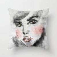 daria Throw Pillows featuring Daria Rose by lisalove