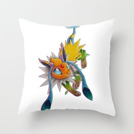 Chymereon— Eeveelutions Mashup Throw Pillow