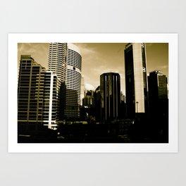 Sydney View Art Print