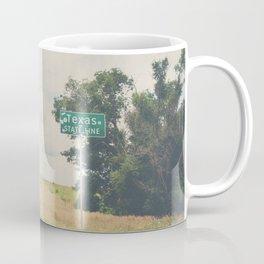 Texas state line ... Coffee Mug