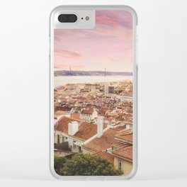 Saudade Clear iPhone Case