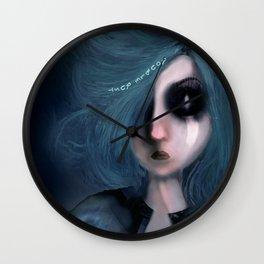 Chronophobia Wall Clock