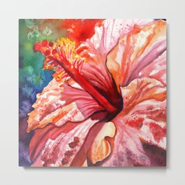 Tropical Hibiscus 2 Metal Print