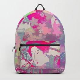 Pink geisha Backpack