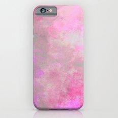 Pink Grey Watercolor iPhone 6s Slim Case