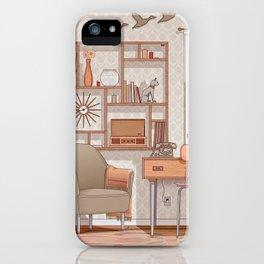 1970s Room iPhone Case