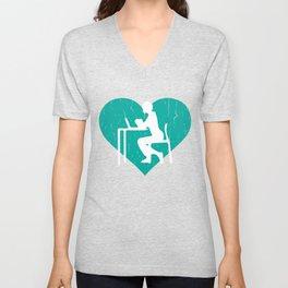 Counselor T-Shirt For Men Or Boys Unisex V-Neck