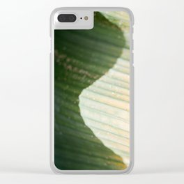 The green wave | colorful botanical photography in the gardens of Dublin Ireland Clear iPhone Case