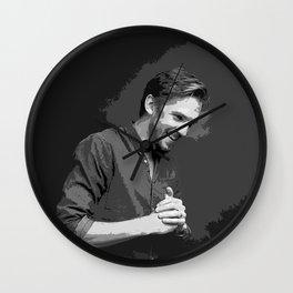 Dan Stevens 5 Wall Clock