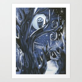 On a Night Like This Art Print