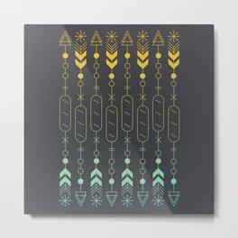 Bread and Arrow Metal Print