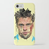 tyler spangler iPhone & iPod Cases featuring Tyler by Marcello Castellani