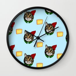 Lunchboxes aren't always square Wall Clock