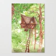 Treehouse Retreat Canvas Print