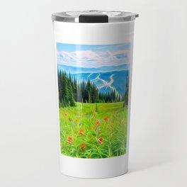Paintbrushes Travel Mug