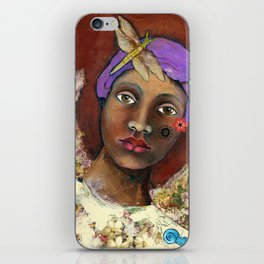 Uganda girl iPhone Skin