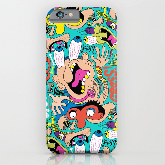 Weird Pattern iPhone & iPod Case