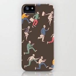 hurry up! iPhone Case