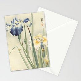 Ohara Koson, Iris Woodblock Print Stationery Cards