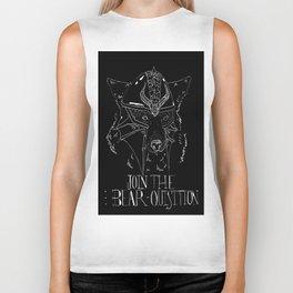Bear-Quisition Biker Tank