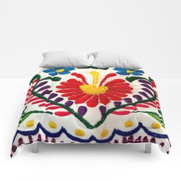 Red Mexican Flower Comforters