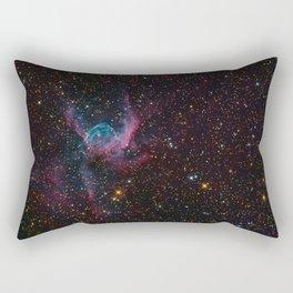 Thor's Helmet Nebula Rectangular Pillow