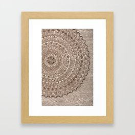 The Center of It All Framed Art Print