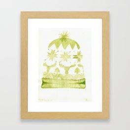 Hat Season Framed Art Print