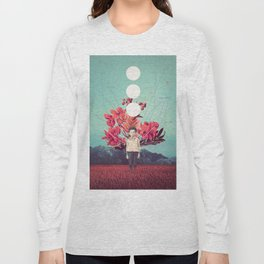 Standing at the Threshold of Time Long Sleeve T-shirt