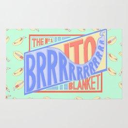 The Brrrrito Blanket Rug