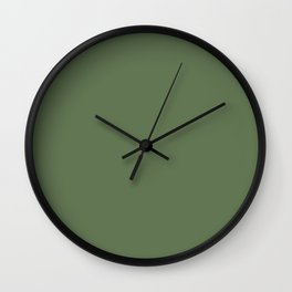 Green colorful living Wall Clock