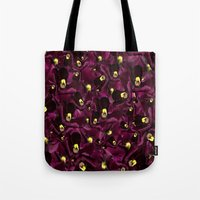 perfume Tote Bags featuring Perfume  by CherryKeeto