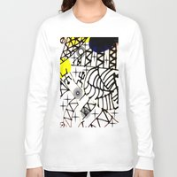 lama Long Sleeve T-shirts featuring Nissi Lama by MIMI & CHIC DESIGNS