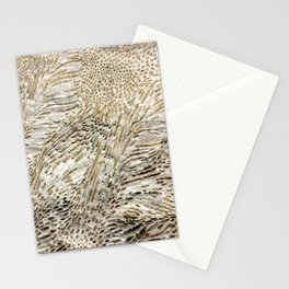 Digital Coral Design Stationery Cards