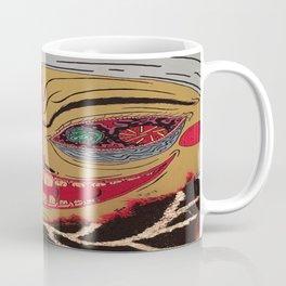 Fancy Man With Onion Bag Collar Coffee Mug