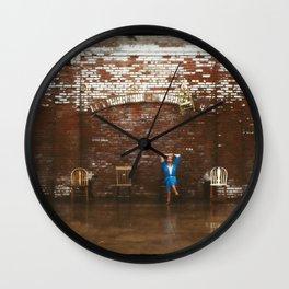 Musical Chairs Wall Clock