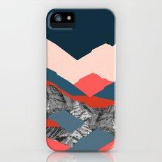 Graphic Mountains X Slim Case iPhone SE