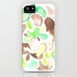 170623 Colour Shapes Watercolor 1  | Abstract Shapes Drawing | Abstract Shapes Art| Watercolor Paint iPhone Case