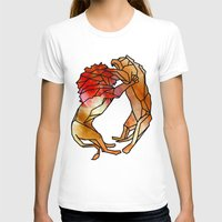 lions T-shirts featuring Lions by madbiffymorghulis