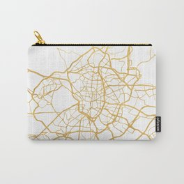 MADRID SPAIN CITY STREET MAP ART Carry-All Pouch