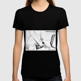 asc 443 - Le joystick (Toying with  Pong) T-shirt
