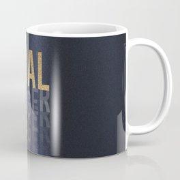Goal Digger - Gold on Black Coffee Mug