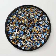 Pebbles in Color Wall Clock