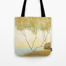 Quiet Morning On The Lake Tote Bag