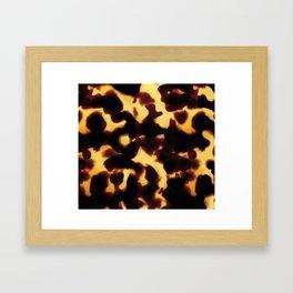 Tortoiseshell Framed Art Print