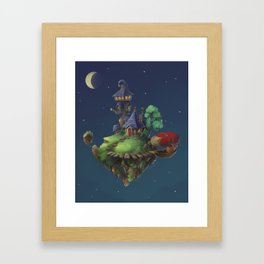 The Floating Island Framed Art Print